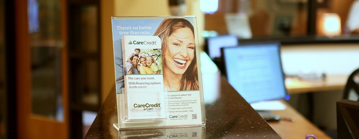 payment plan dentist in akron, care credit pamphlet