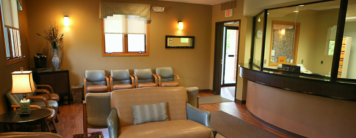 low income dental care in akron waiting room