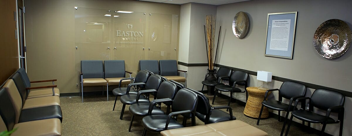 clevleand heights dentist office waiting room